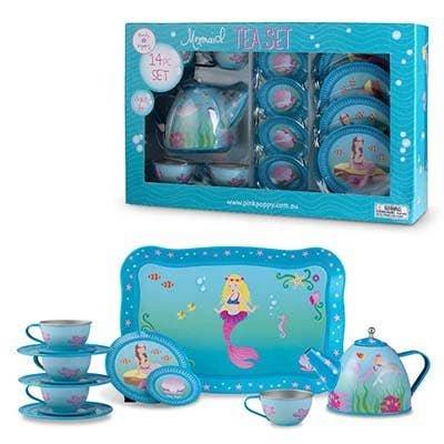 Pink Poppy Tea Set