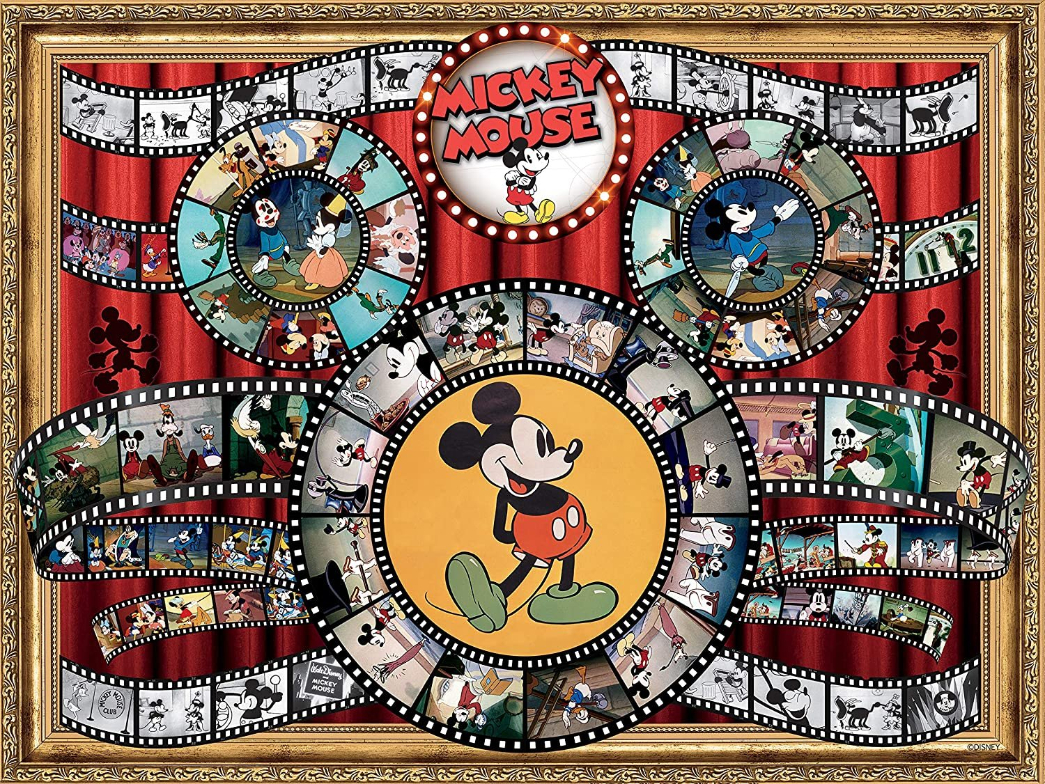 Ceaco Disney Mickey Mouse Jigsaw Puzzle, 1500 Pieces