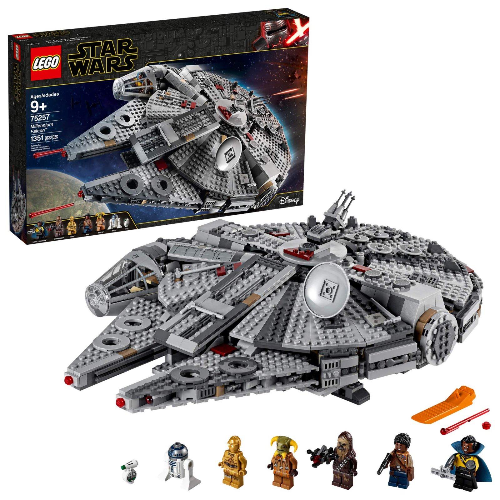 Lego Star Wars Millenium Falcon (75257}