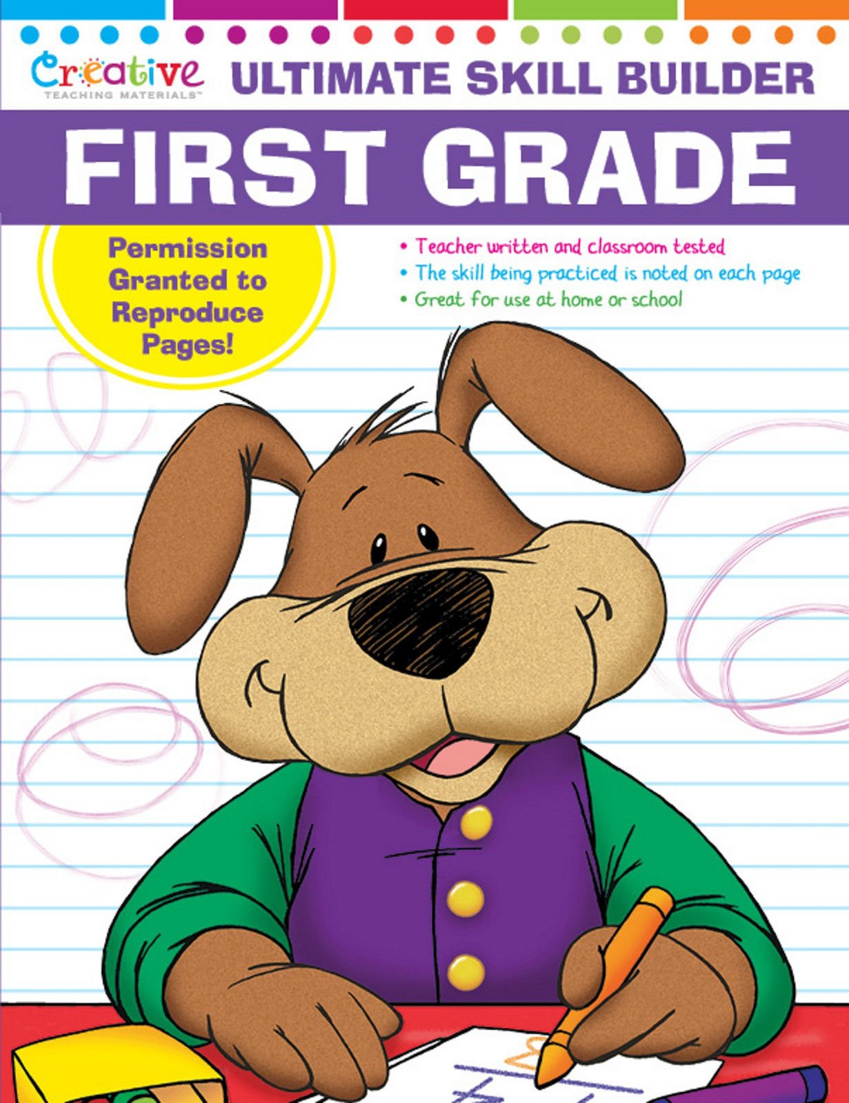 Creative Teaching Ultimate Skill Builder First Grade Workbook