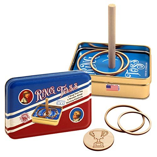 Classic Games Ring Toss Tin Set