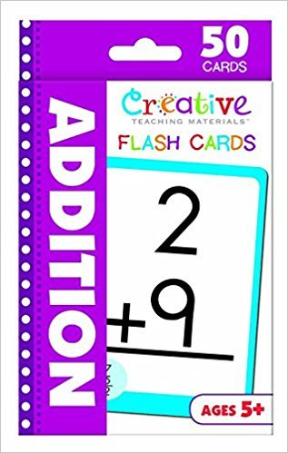 Creative Teaching  Materials Addition FlashCards