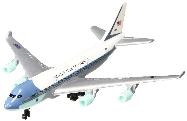 Air Force One Diecast Metal Plane
