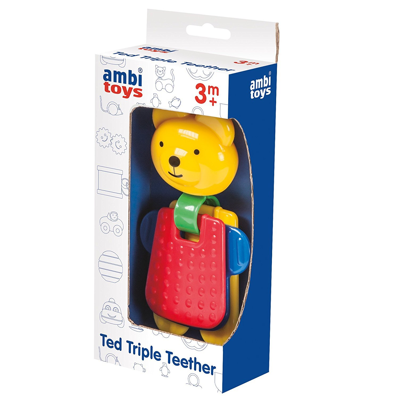 Ambi Ted Triple Teether