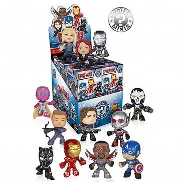 Funko Mystery Pack Captain America 1 Random Figure