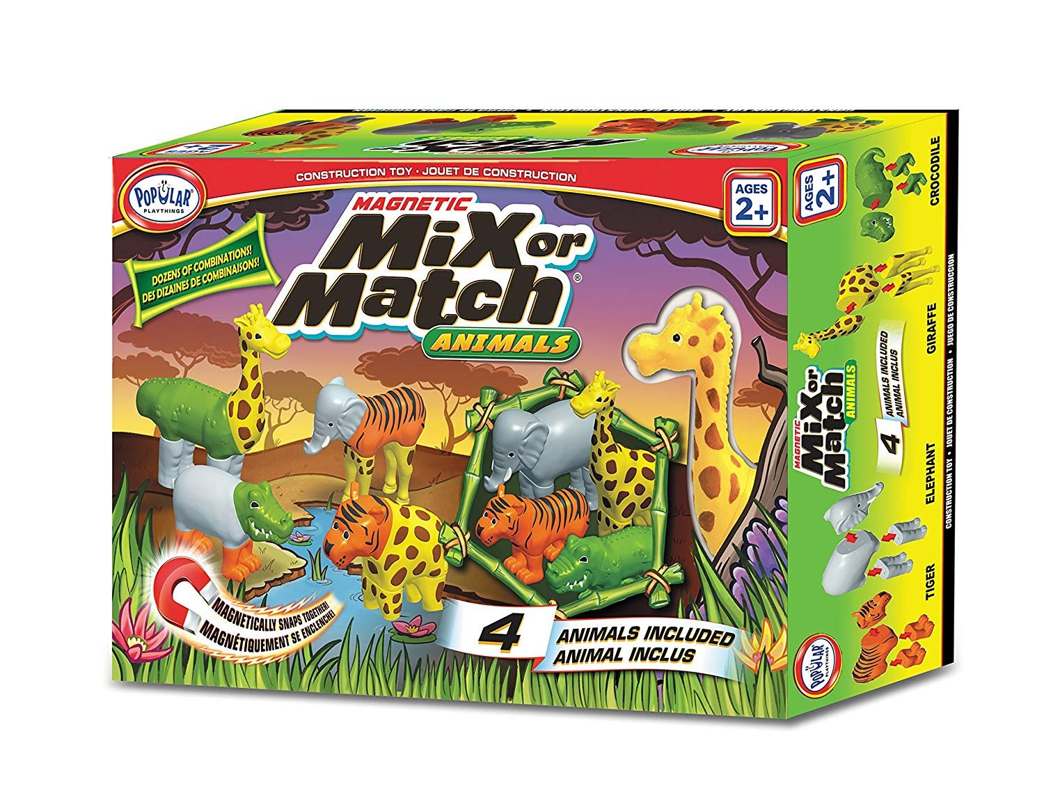 Magnetic Mix or Match Animals by Popular Playthings