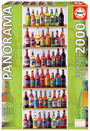 Educa 2000 pc World Beers Jigsaw Puzzle