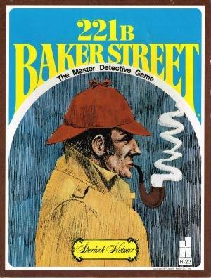 221B Baker Street Master Detective Game