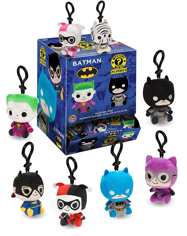 Funko Mystery Minis Batman Plushies