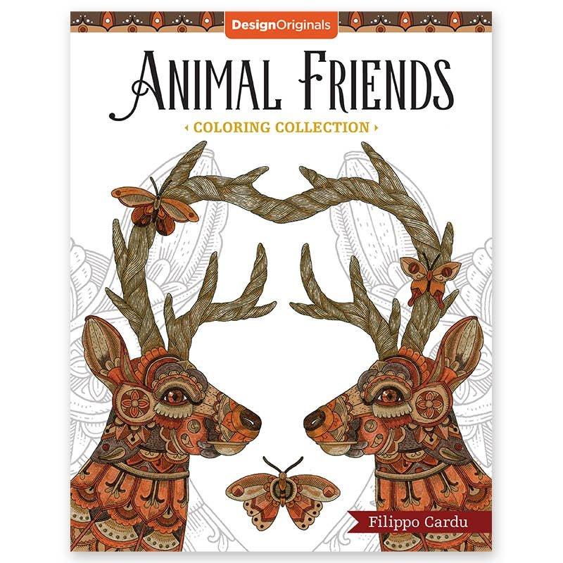 Design Originals Spirit Animals Coloring Book