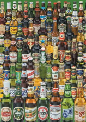Educa 1000 pc Beers Puzzle