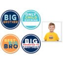 Big Brother Stickers- 4 pack
