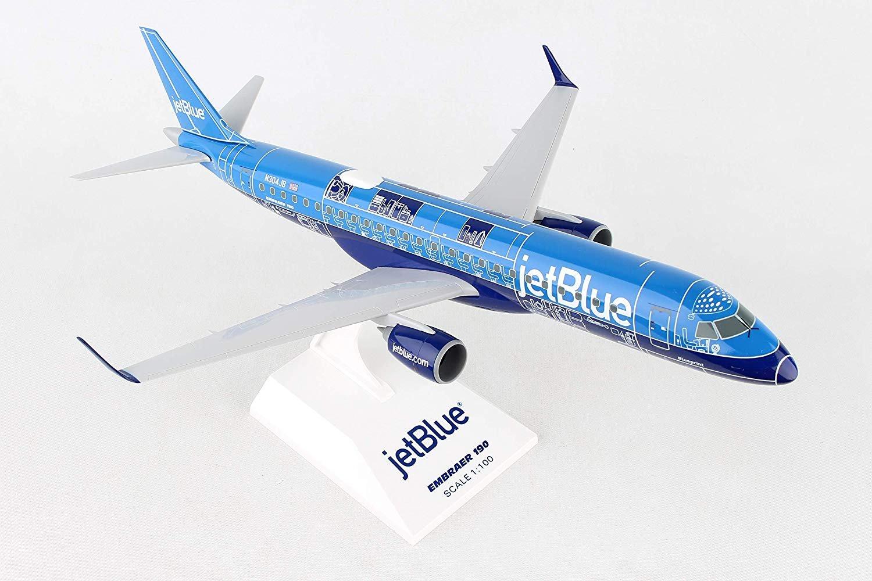 Daron Worldwide SkyMarks Jet Blue Blueprint E190 1/100