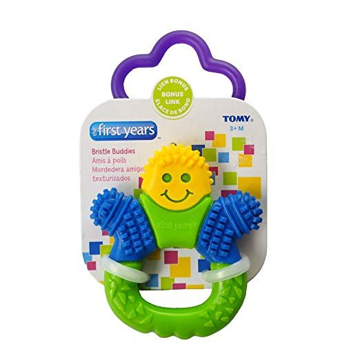 The 1st Years Bristle Buddy Teether