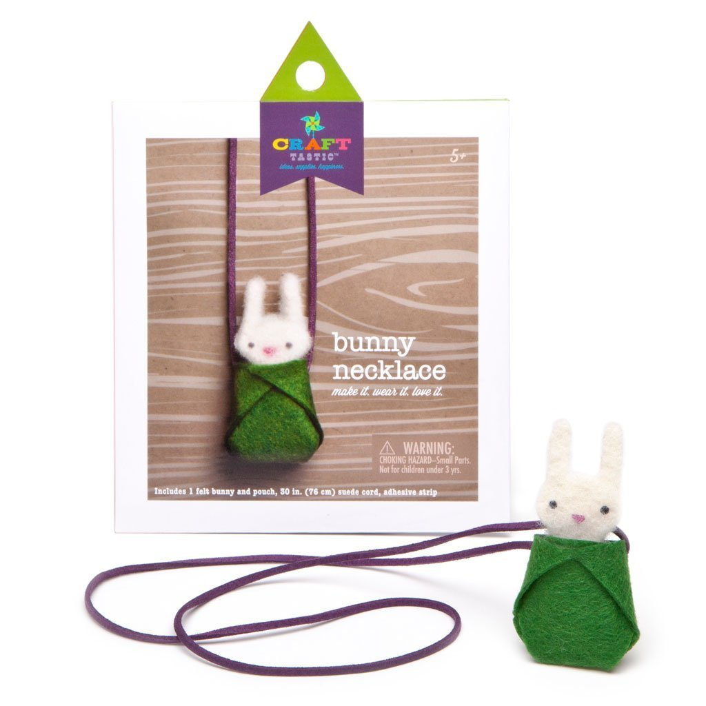 Craftastic Bunny Necklace
