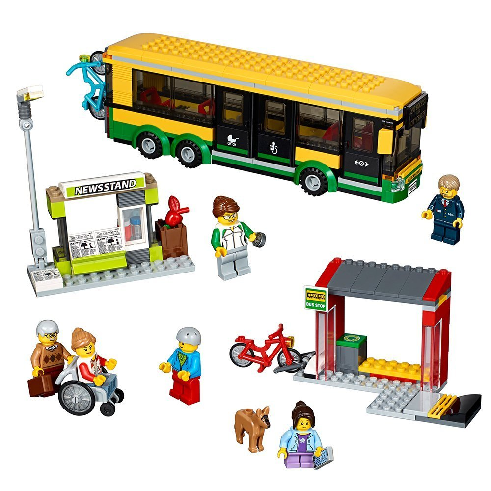 Lego City Bus Station(60154)