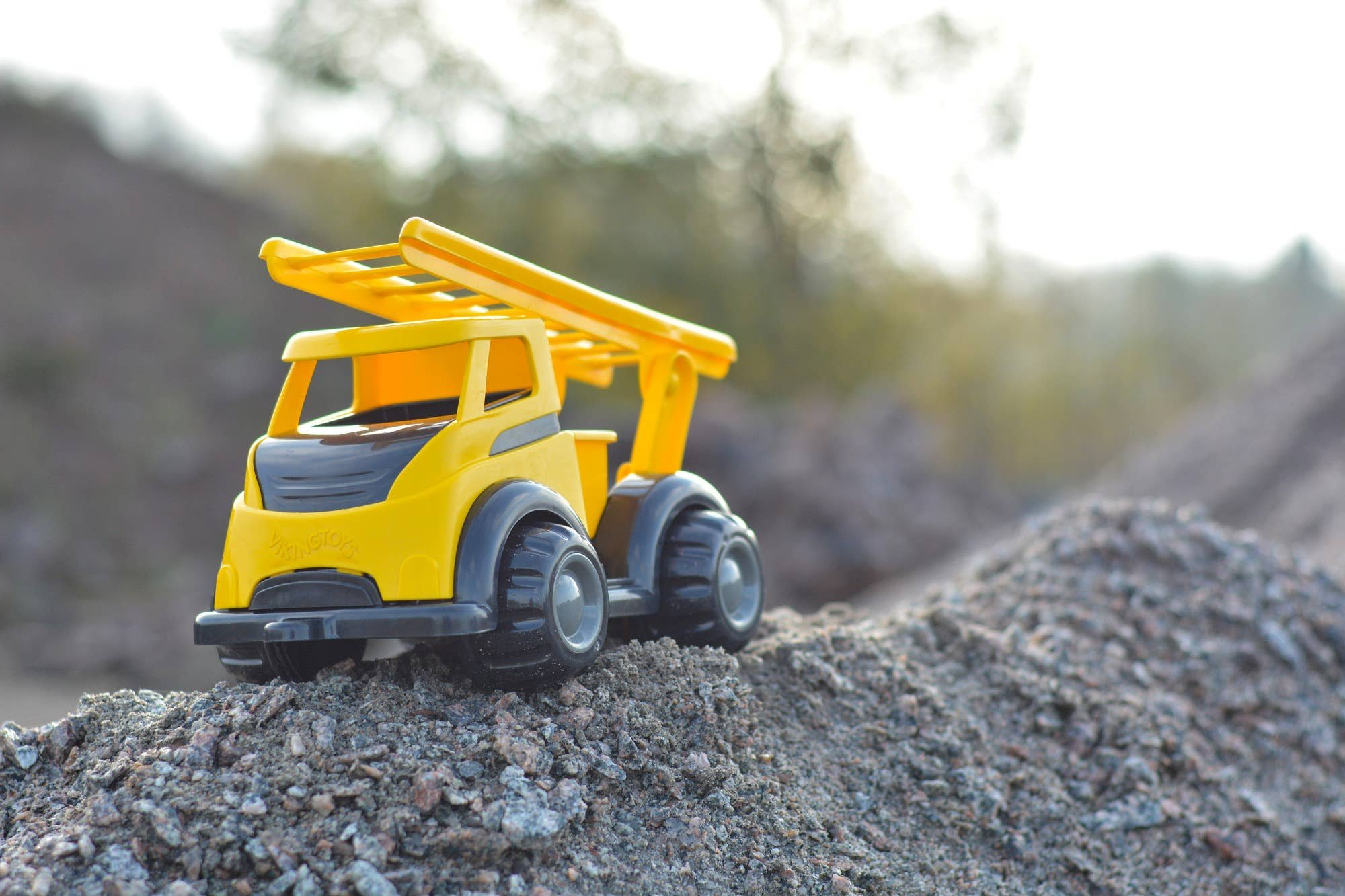 Viking Toys Mighty Construction Firetruck