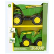 John Deere  2 in 1 Truck /Tractor, Green, Yellow