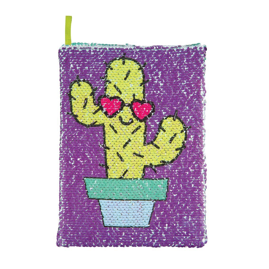 Style.Lab Magic Sequin Cactus/Dont Touch Reveal Journal - copy