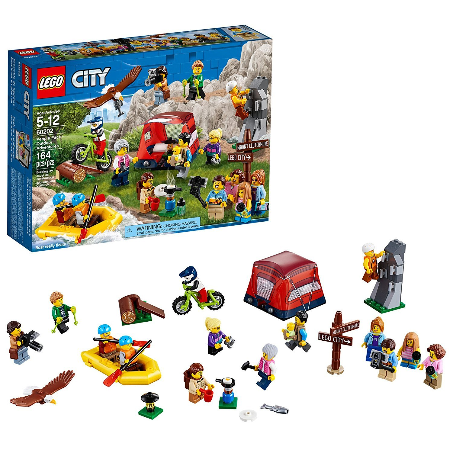 Lego City (60202) People Pack Outdoor Adventure 164 pcs