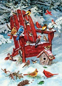 Jack Pine 1000pc Adirondack Birds Jigsaw Puzzle