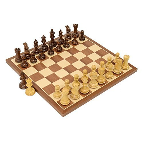 Classic Games Wooden Chess Board Set