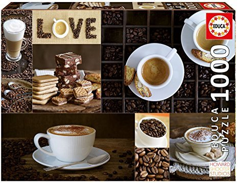 Educa 1000 pc Coffee Puzzle