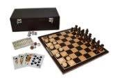 Classic Game Collection 11 Dark Wood 3 in 1 Game Set