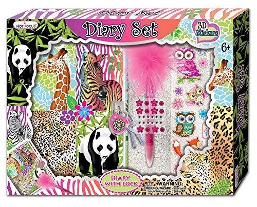 Hot Focus Magic Safari Diary Set