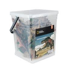 National Geographic 45pc Large Bucket of Dinosaurs