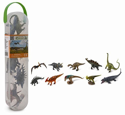 Dinosaur Mega Playset- 12 pc Dinosaur Models