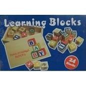 Learning ABC Wood Blocks
