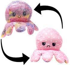 Large Reversible Octopus Assorted Colors