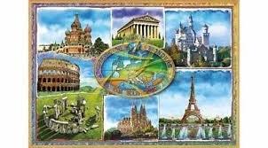 Educa 1,500pc Seven Wonders of Europe