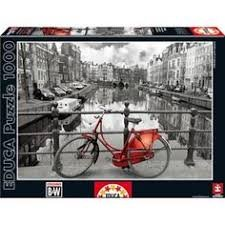 Educa 1000 pc Bicycle on the Island Puzzle