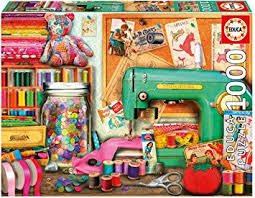 Educa 1000 pc Sewing Corner