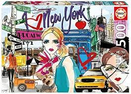 Educa 500pc Take Me To New York Puzzle