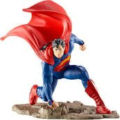 Schleich Superman Kneeling Toy Figurine
