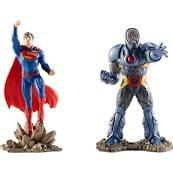 Schleich Superman Vs Darkseid Toy Figurine Set
