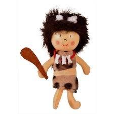 Fiesta Cavegirl Finger Puppet