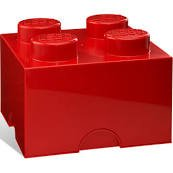 Lego Storage Brick 4- Red