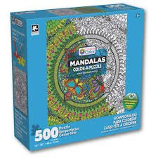 500pc Mandelas Color a Puzzle