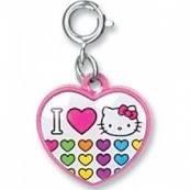 Charm It! I Love Hello Kitty Charm