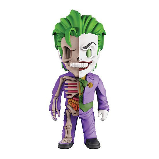 Mighty Jaxx XXray 4D Joker Collectible Figure by Jason Freeny - c