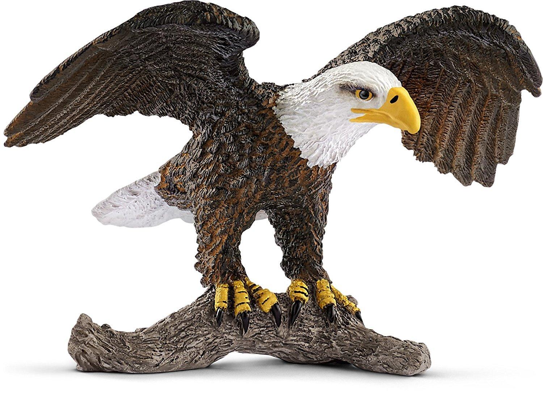 Schleich American Bald Eagle Animal Toyr Figurine
