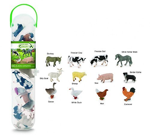 CollectA Box of Mini Farm Animal Figures