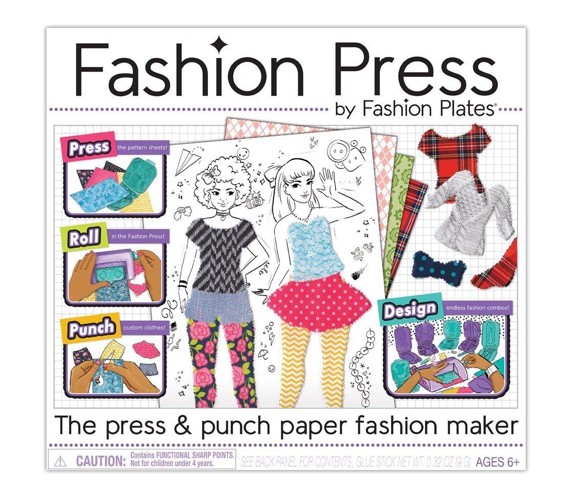 Kahootz Fashion Press Deluxe Activity Kit