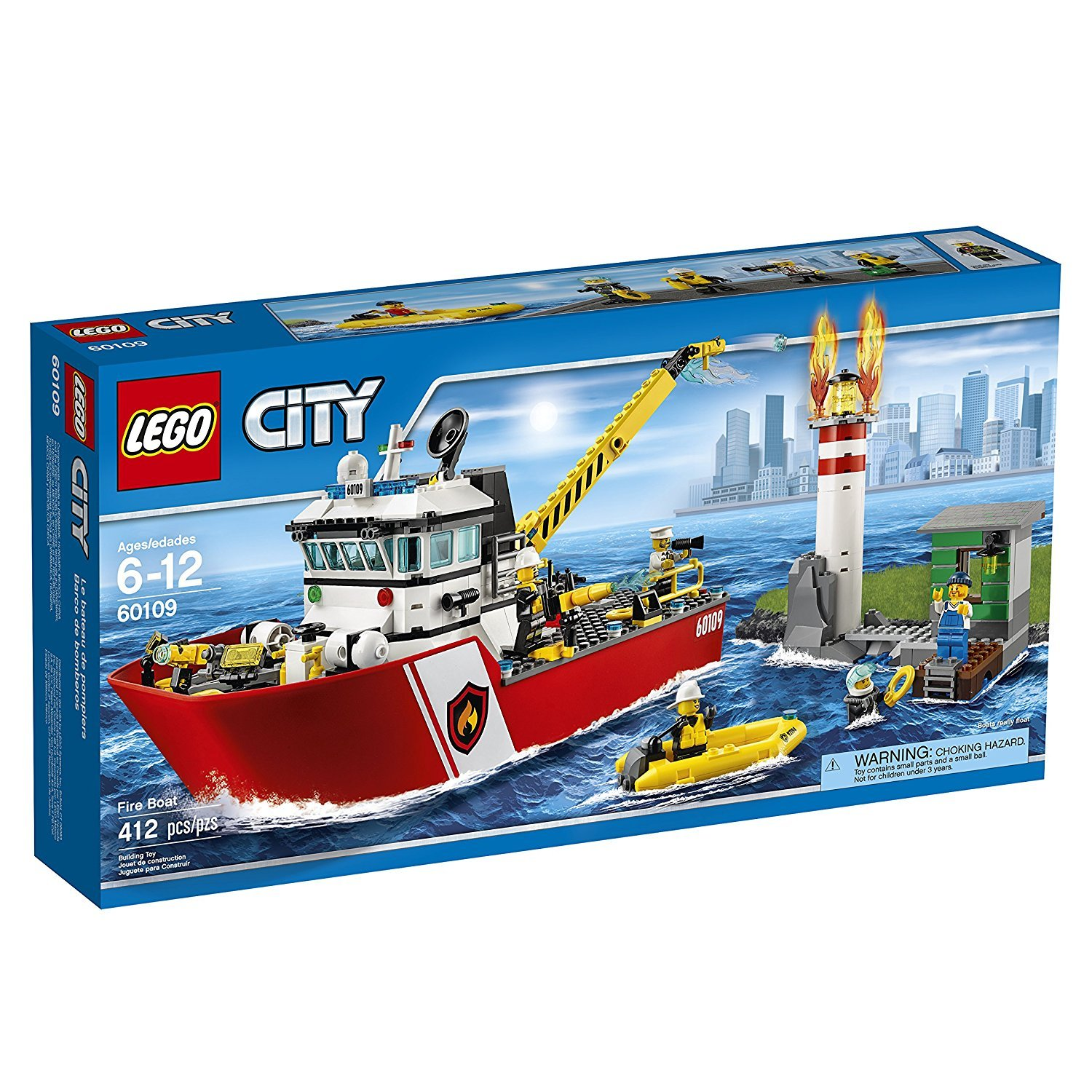 Lego City (60109) Fire Boat