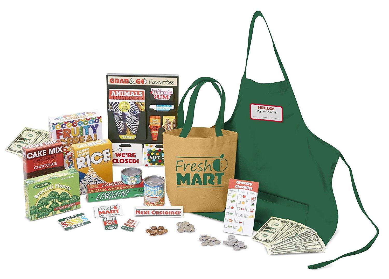 Melissa & Doug Fresh Mart Grocery Collection