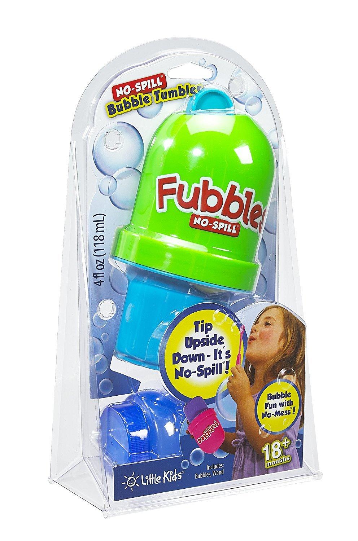 Little Kids Fubbles No Spill 4 oz Bubble Set